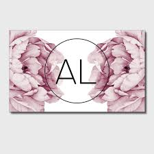 floral business card aliexpress buy made floral business cards high quality
