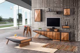 Home Design Center New Jersey Different Entertainment Center Set 8 Pcs Walnut By Home