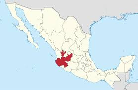 Mexico Precipitation Map by Jalisco Wikipedia