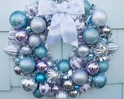 ornament wreath etsy