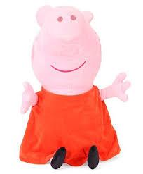 Peppa Pig Plush Peppa Pig Plush Soft Orange Pink 46 Cm India Buy Soft