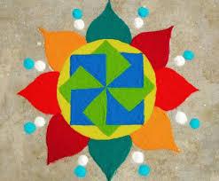best rangoli designs for beginners simple colorful rangoli design