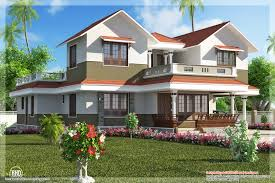beautiful villa elevation in 2600 sq feet kerala house design idea