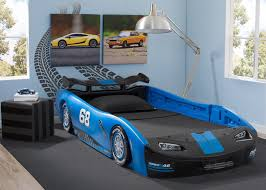 turbo race car twin bed blue delta children u0027s products