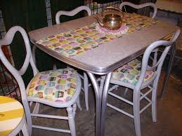 Retro Kitchen Table Sets Adorable Retro Kitchen Sets Furniture With Formica Cuntertops And