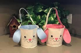 easter pail easter bunny fabric pail for 7 99 reg 14 99 utah sweet savings