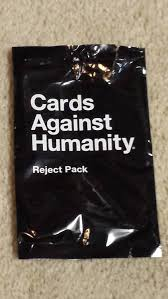cards against humanity reject pack cards against humanity reject pack unboxing