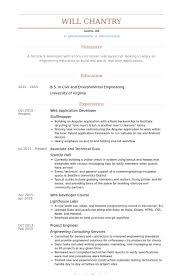 developer resume example co op web developer resume samples web