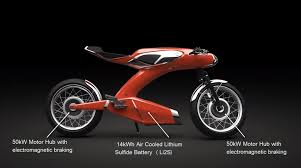 tesla concept motorcycle 50th anniversary honda super 90 electric concept
