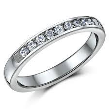mens eternity rings titanium diamond rings and mens engagement diamond eternity rings