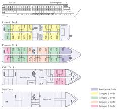 Cruise Ship Floor Plans by River Tosca