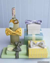 wine bottle bows s day idea bow tie wrap martha stewart