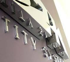 cast metal logos and letters chrome sarasota fl bradenton