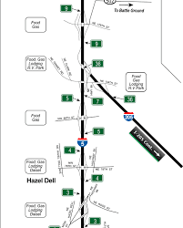 map of oregon i 5 wsdot i 5 of kalama to oregon border interstate guide