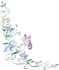 free vector graphic floral ornament flower butterfly free