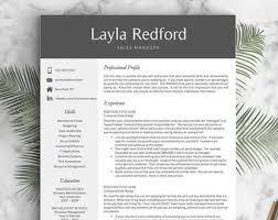 Resume Templates For Pages Resume Template Mac Etsy