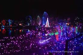 christmas light displays in ohio the columbus zoo footsteps travel