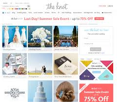 knot wedding website wedding websites the the bad and the paperdirect