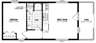Home Plans With Rv Garage by Certified Homes Settler Certified Home Floor Plans