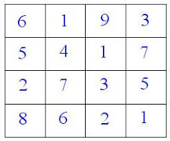 number puzzles and games magic square magic triangle