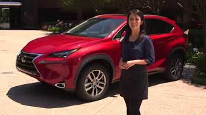lexus nx black red interior the 2015 lexus nx interior features walkaround youtube