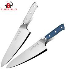 tuobituo 2pcs set new arrival 8inch japanese chef knife kit froged
