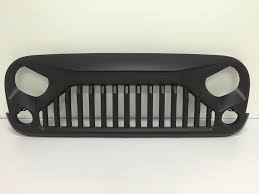 jeep wrangler 2017 matte black accessories for jeeps jeep wrangler gladiator grille jeep