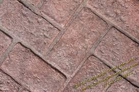 Herringbone Brick Patio Herringbone Used Brick Stamped Concrete Hanover Pa Carbaugh