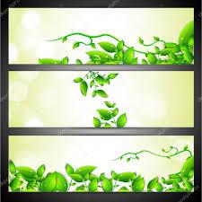 eco site et eco en tête de site web ou d u0027un ensemble de bannière u2014 image