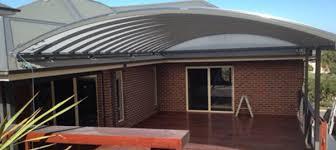 Transparent Patio Roof Curved Patios Melbourne Curved Patio Roof Design Ideas For