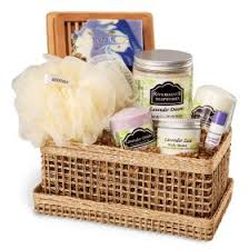 relaxation gift basket bath gifts