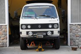volkswagen van front view project whitestar 4x4 vw syncro and volkswagen