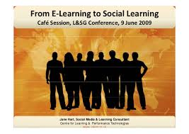 si e social orange from e learning to social learning