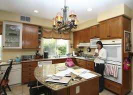 stylish transitional kitchen before after robeson design san stylish transitional kitchen 1 1 before