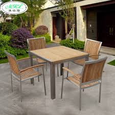 Solid Wood Patio Furniture by Piece Stainless Steel Outdoor Furniture Solid Wood Furniture