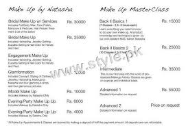 wedding makeup packages bridal makeup packages of salons of pakistan 2