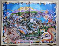 map of california adventure does disneyland still sell the wall maps of the park