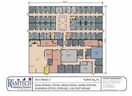 clinic floor plan medical floorplans ramtech