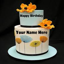 write your name on pink birthday cake for girls hbd cake