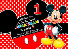 baby mickey invitations new collection mickey mouse clubhouse birthday invitations