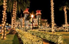 nights of lights holiday lights festival st augustine florida