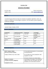 Recent Resume Samples by Good Resume Format For Experienced 571 Http Topresume Info