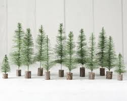 how to make sisal bottle brush trees from scratch diy craft