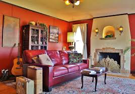 red leather sofa living room dark red couch nurani org