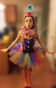 Kids Halloween Clown Costumes Clown Tutu Kostuum Clown Circus Tutu Door Tullevogue