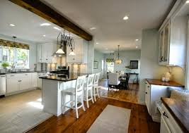 Kitchen Open To Dining Room by Kitchen Dining Room Decorating Ideas Attractive Decorating Ideas