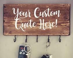 custom wood decor etsy