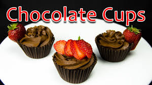 edible chocolate cups to buy how to make chocolate cups by cookies cupcakes and cardio