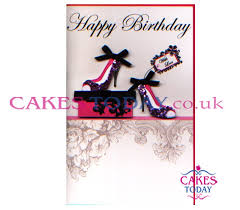 birthday cards with shoes happy birthday shoes with design cd138swl birthday