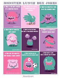 cute monster lunch box jokes diycandy com